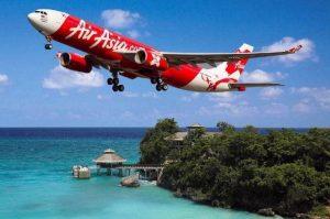 Air Asia. Aerolinea de Bajo costo