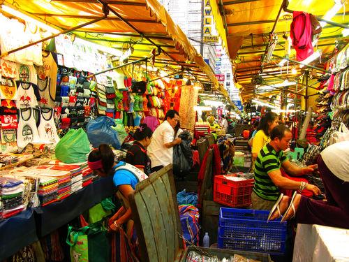 Patpong night Market. Bangkok, Tailandia.