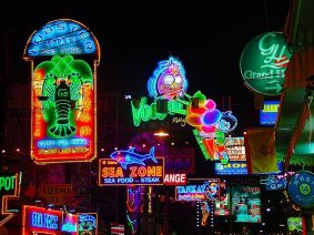 Pattaya. Neon Lights.