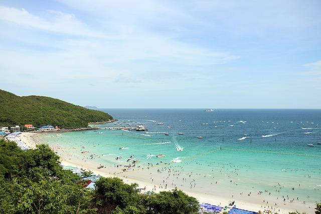 Playa Pattaya. 5 ciudades mejores de Tailandia