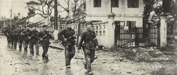 Soldados Chinos. Guerra chino-vietnamita 1979