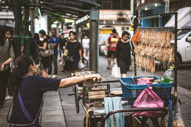 Street food. Vivir en sudeste asiático