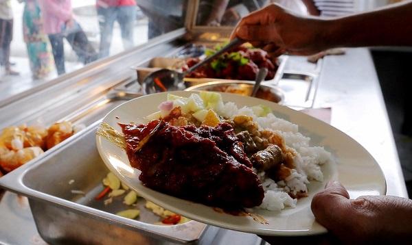 Nasi Kandar restaurants. Timos en Kuala Lumpur