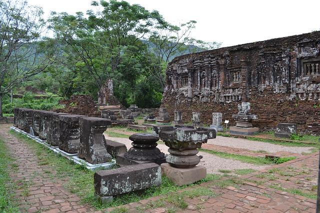 Ruinas My Son. Vietnam