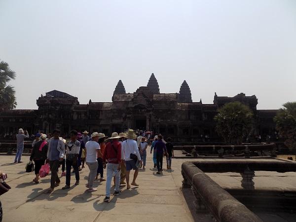 Angkor wat. Seguridad en Casmboya