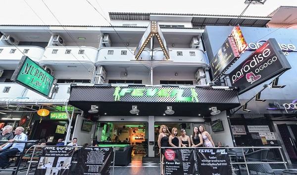 Fever Bar. Pattaya.