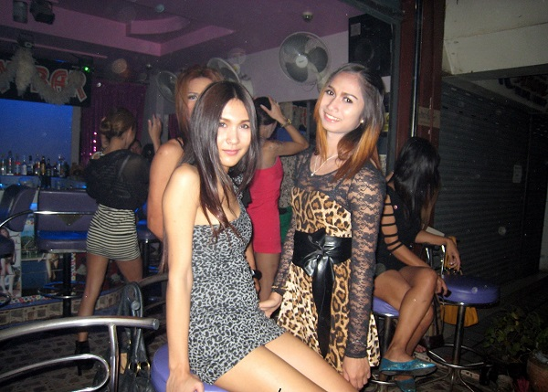 Ladyboys en Pattaya. Tailandia.