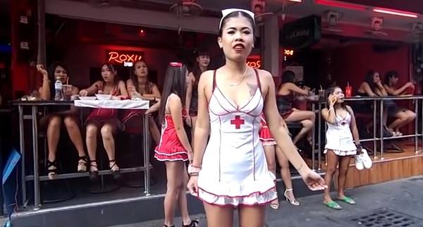 Soi 6.1 Ladyboys tailandia. Pattaya.