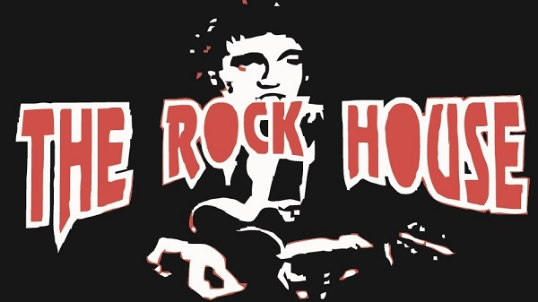 The Rock House. Bar y habitaciones.