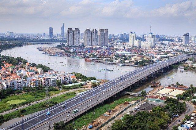 Saigón. HCMC. Vietnam