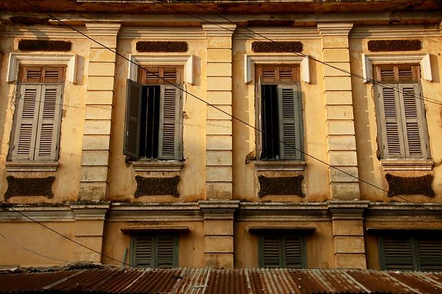 Arquitectura colonial en Battambang
