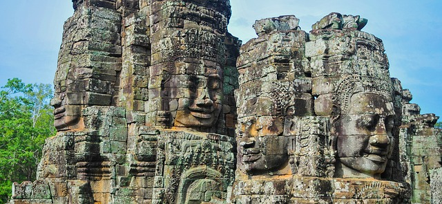 Bayon. Angkor Thom.