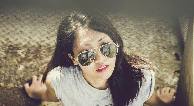 Bella muchacha asiática