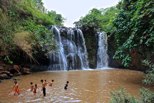 Cascadas en Balung. Mejores destinos de Camboya.