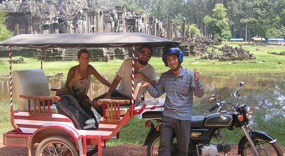 Tuk Tuk en Angkor