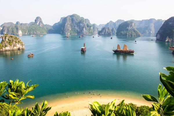 Halong Bay. Playas de Vietnam