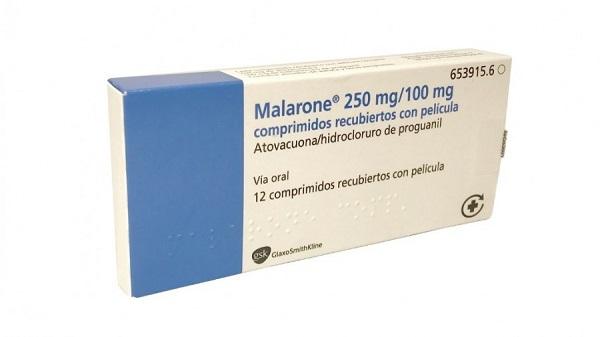Profilaxis malaria. Malarone.