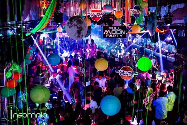 En Insomnia. Mejores discotecas-Walking Street-Pattaya